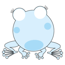 Pinky the Frog sticker #140182