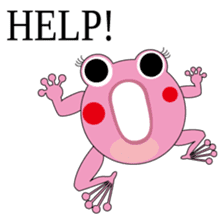 Pinky the Frog sticker #140195