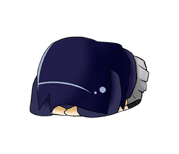 YURU Girl sticker #140236