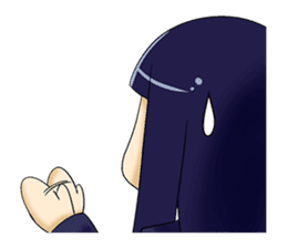 YURU Girl sticker #140251