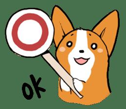 Sticker of Corgi sticker #140441