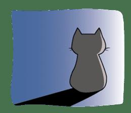 Grey Cat sticker #140484