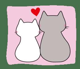 Grey Cat sticker #140498