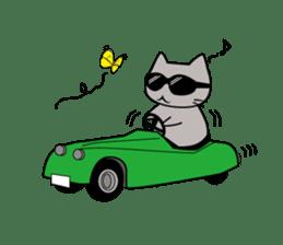 Grey Cat sticker #140499