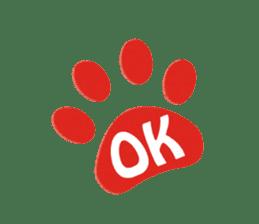 Grey Cat sticker #140505