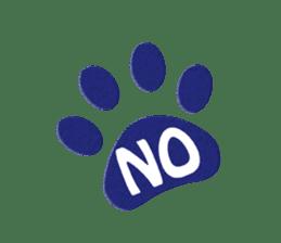 Grey Cat sticker #140506