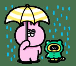 "Emotional appeal animals!""USAN & TANUN"" sticker #140661"