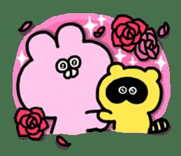 "Emotional appeal animals!""USAN & TANUN"" sticker #140673"