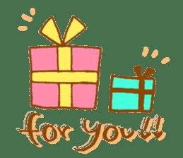 Chococo & friends sticker #141568