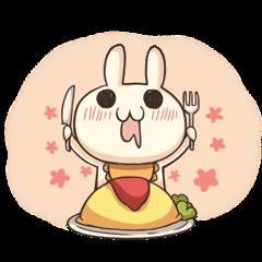 Shiro the rabbit
