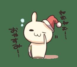 Shiro the rabbit sticker #141573