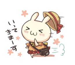 Shiro the rabbit sticker #141577