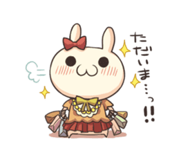 Shiro the rabbit sticker #141578