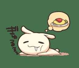 Shiro the rabbit sticker #141579