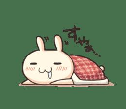 Shiro the rabbit sticker #141585