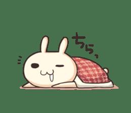 Shiro the rabbit sticker #141586