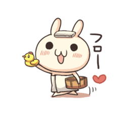 Shiro the rabbit sticker #141587
