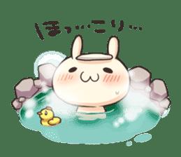 Shiro the rabbit sticker #141588