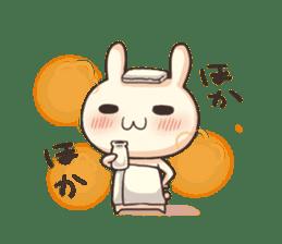 Shiro the rabbit sticker #141589