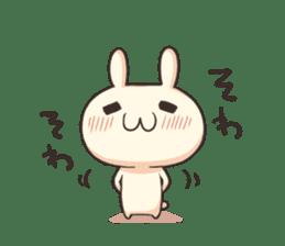 Shiro the rabbit sticker #141593