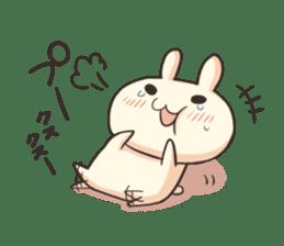 Shiro the rabbit sticker #141594