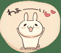 Shiro the rabbit sticker #141595
