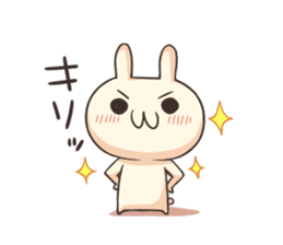 Shiro the rabbit sticker #141598