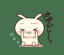 Shiro the rabbit sticker #141599