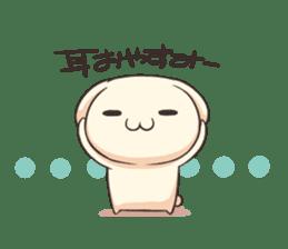 Shiro the rabbit sticker #141600