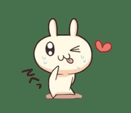 Shiro the rabbit sticker #141601