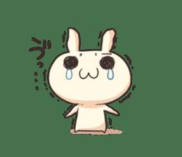 Shiro the rabbit sticker #141602