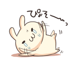 Shiro the rabbit sticker #141603