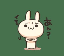 Shiro the rabbit sticker #141604
