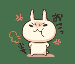 Shiro the rabbit sticker #141605