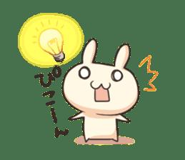 Shiro the rabbit sticker #141607