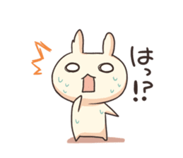 Shiro the rabbit sticker #141608