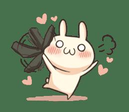 Shiro the rabbit sticker #141611