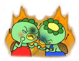 Twin Kappas TARO-JIRO sticker #141744