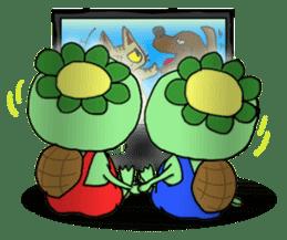 Twin Kappas TARO-JIRO sticker #141745