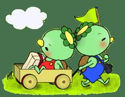 Twin Kappas TARO-JIRO sticker #141746