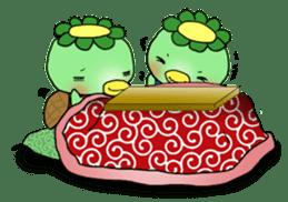 Twin Kappas TARO-JIRO sticker #141763