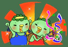 Twin Kappas TARO-JIRO sticker #141771