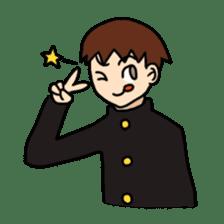 schoolboy sticker #142010