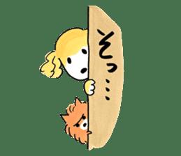 Shiba Inu Gen-chan and his friends sticker #142380