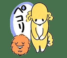Shiba Inu Gen-chan and his friends sticker #142384