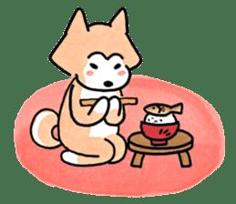Shiba Inu Gen-chan and his friends sticker #142387