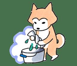 Shiba Inu Gen-chan and his friends sticker #142388