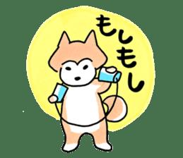 Shiba Inu Gen-chan and his friends sticker #142392