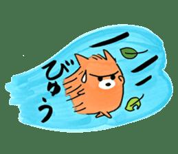 Shiba Inu Gen-chan and his friends sticker #142403