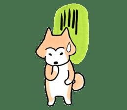 Shiba Inu Gen-chan and his friends sticker #142410